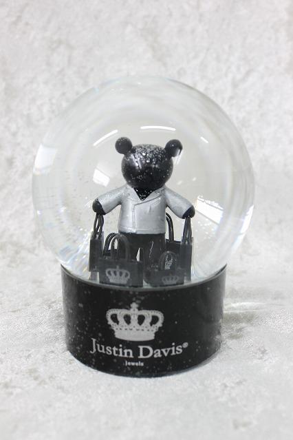 Justin Davis ノベルティ.オリジナルスノードーム