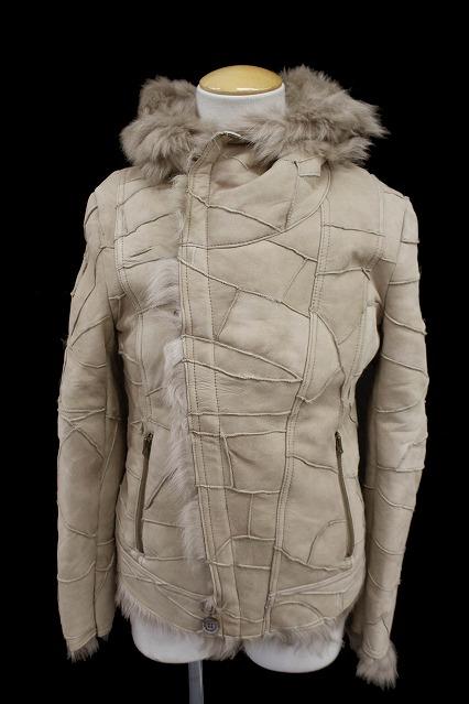 TORNADO MART ジャケット.トスカーナスクラップムートン