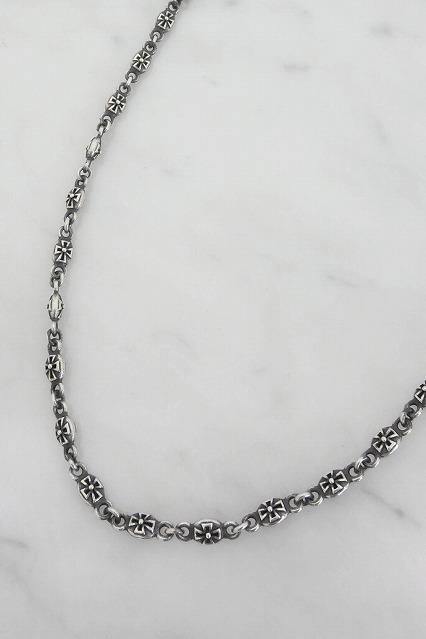 Justin Davis ネックレス.Tiny Cross Chain 50cm