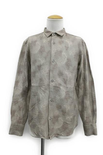 TORNADO MART シャツ.斑ジャガード