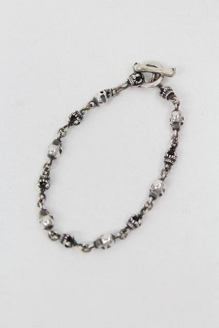 Justin Davis ブレスレット.Skull Divine Bracelet