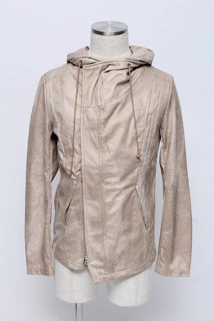 TORNADO MART ジャケット.エステルピーチヘアライン ビックフード