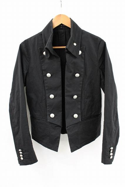 NO ID.BLACK ジャケット.Cストレッチナポレオンショート