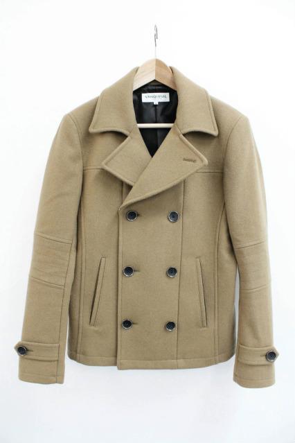 VANQUISH ジャケット.800gメルトンショート丈Pコート