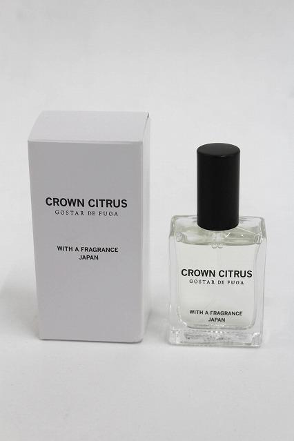 GOSTAR DE FUGA ノベルティ.CRAWN CITRUS 香水