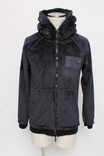FranCisT_MOR.K.S. パーカー.Micro Fur Fooded Jacket
