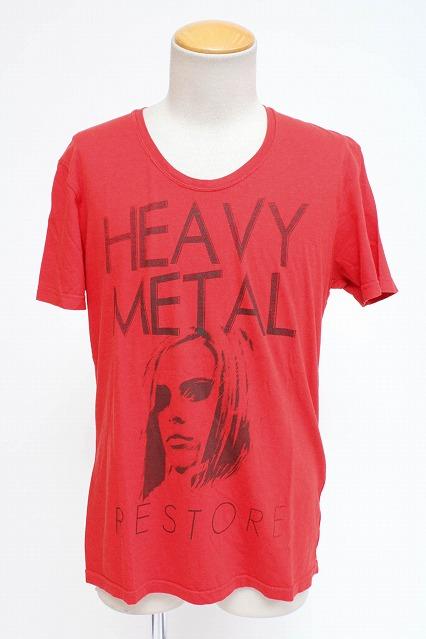 Moonage Devilment(清春) Tシャツ.HEAVY METAL print typeB