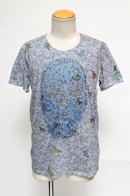 maxsix Tシャツ.Flowers Vネック