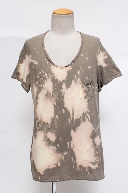 Moonage Devilment(清春) Tシャツ.硫化染め