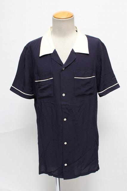 NO ID. シャツ.Progressive刺繍半袖