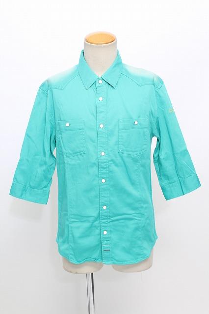DOWBL シャツ.カツラギ6分袖