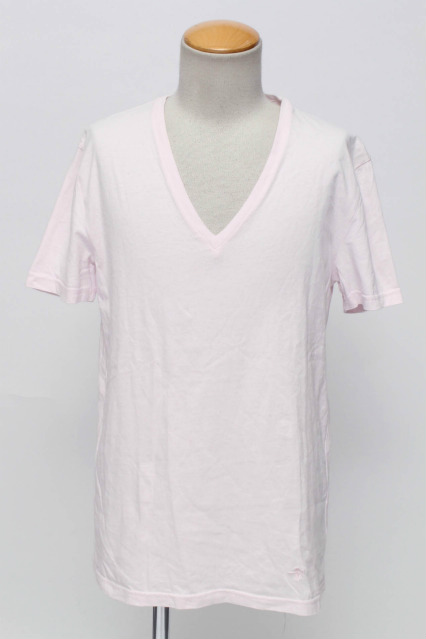 NO ID. Tシャツ.C度詰天竺半袖V/N