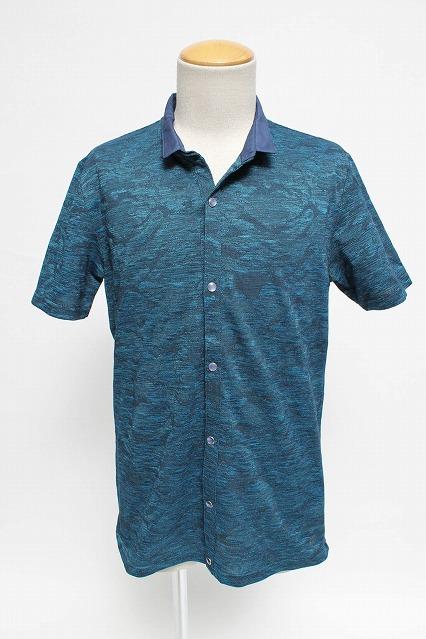 TORNADO MART シャツ.2枚衿半袖カーディガン