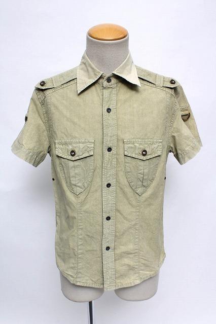 VANQUISH シャツ.ロールアップ半袖