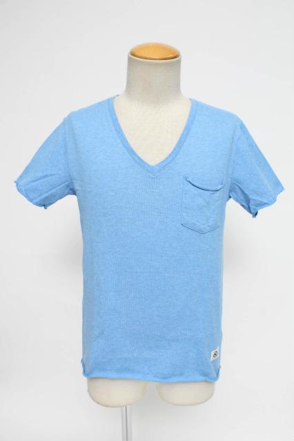 VANQUISH Tシャツ.ヘザーカラーVネック