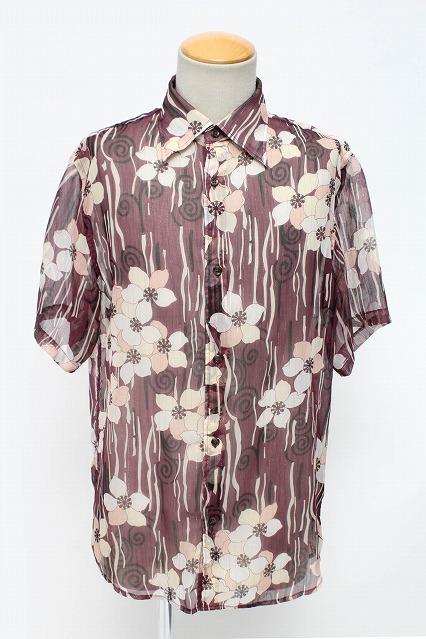 TORNADO MART シャツ.半袖和柄
