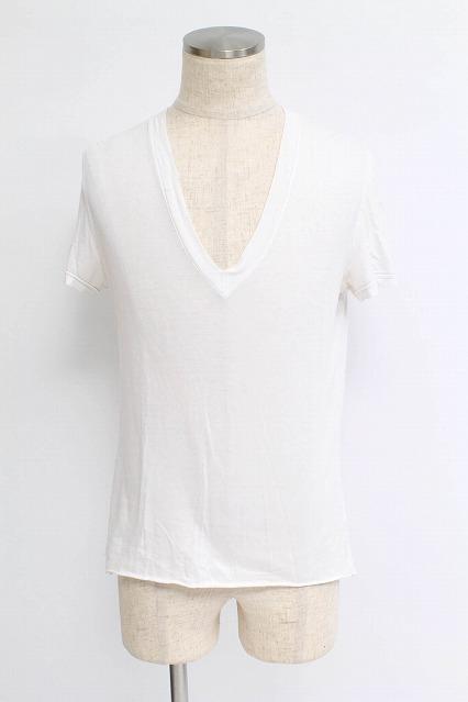 NO ID. Tシャツ.カットオフディープV