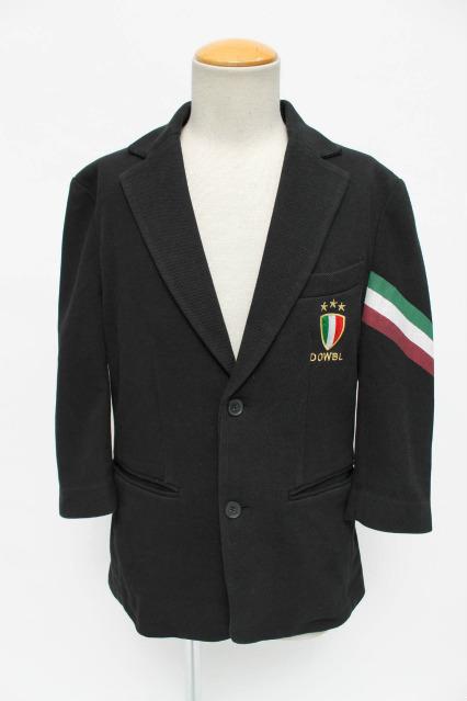 DOWBL ジャケット.イタリアン鹿の子7分袖