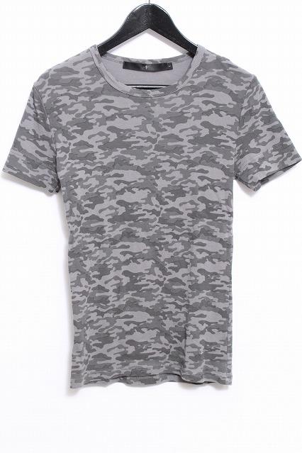 NO ID. Tシャツ.21フライスカモフラPT半袖CN-T