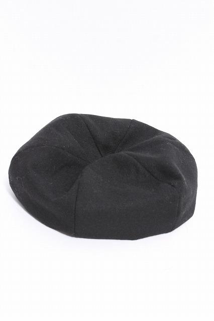 VANQUISH キャップ.ウールビッグベレー帽