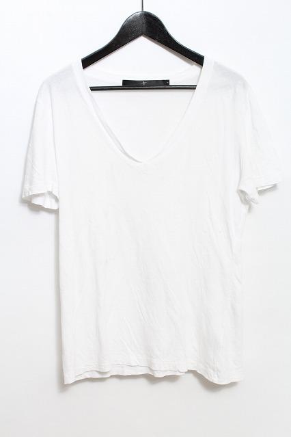 NO ID. Tシャツ.コットンVネック