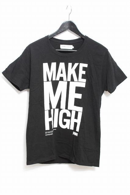 VANQUISH Tシャツ.MAKE ME HIGH クルーネック