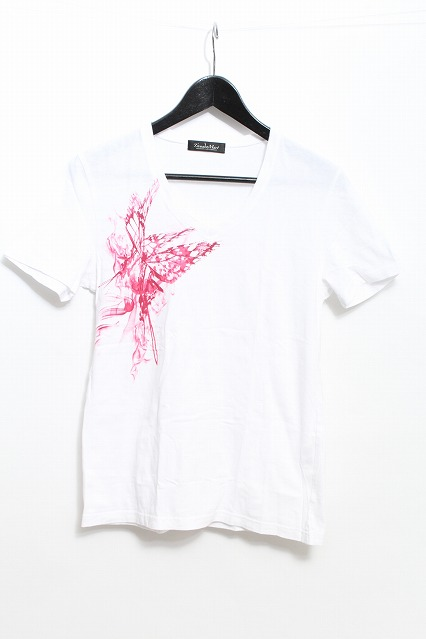 TORNADO MART Tシャツ.バタフライプリント