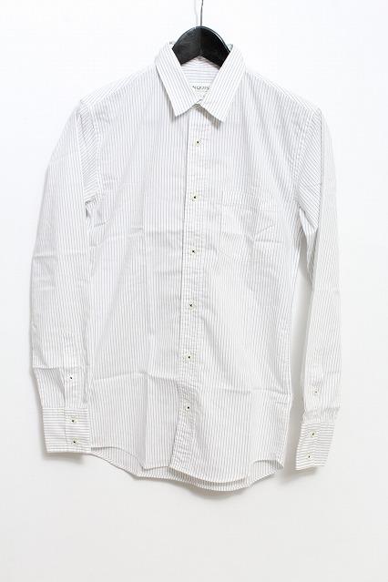 VANQUISH シャツ.ストライプオックス