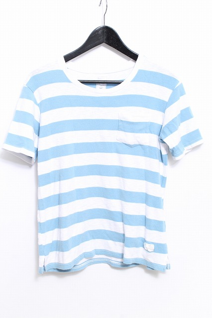 JACKROSE Tシャツ.ボーダーポケット