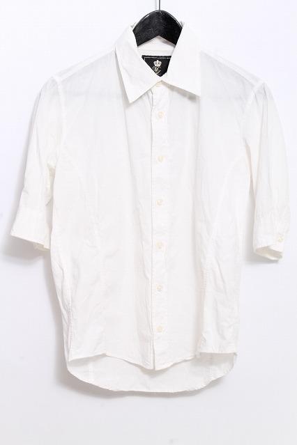 MURDER LICENSE シャツ.5部袖シャンブレー