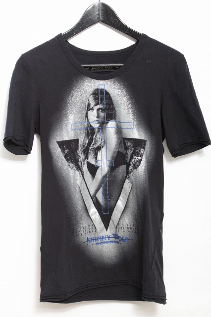JOHNNY WOLF Tシャツ.トライアングルガール