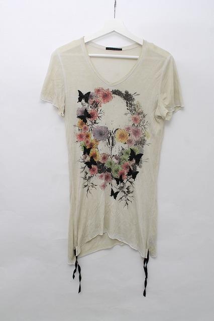 KMRii Tシャツ.バタフライスカル