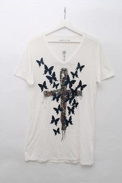 KMRii Tシャツ.バタフライクロス