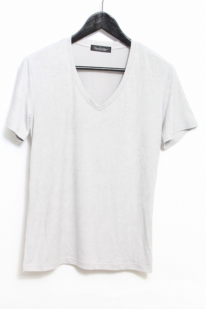 TORNADO MART Tシャツ.エンボスクリスタルクロコプリント