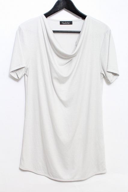 TORNADO MART Tシャツ.ドレープネック