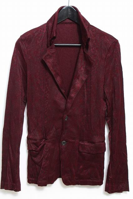 TORNADO MART ジャケット.パイソンジャガード皺加工