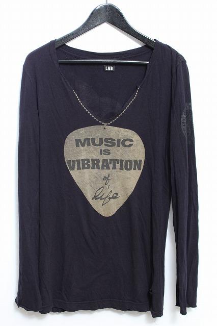 LGB カットソー.MUSIC.C.I.V.O.L