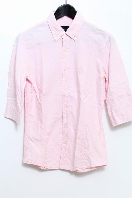 MURDER LICENSE シャツ.五分袖スムースオックス