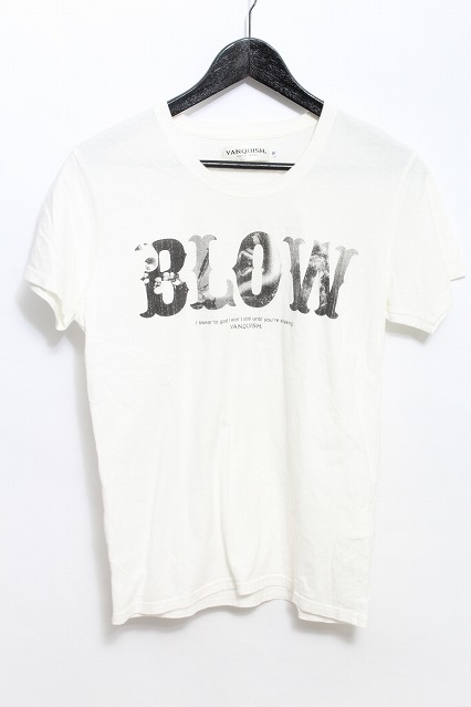 VANQUISH Tシャツ.BLOW クルーネック