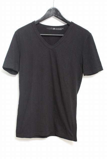 NO ID. Tシャツ.無地Vネック