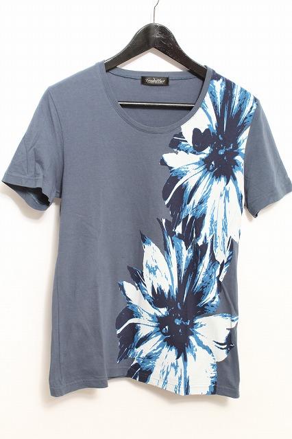 TORNADO MART Tシャツ.HUGEフラワープリント