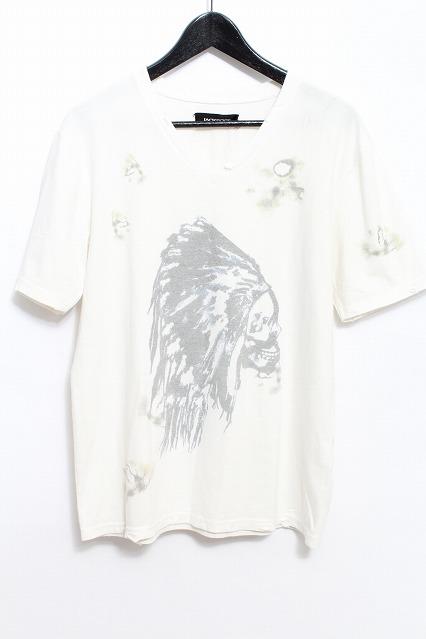 JACKROSE Tシャツ.ダメージ加工プリント