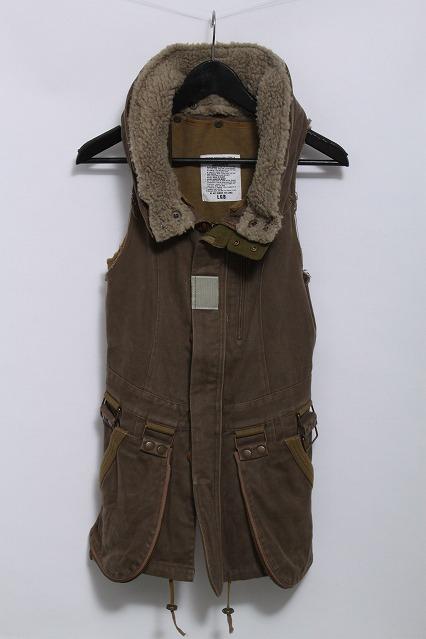 LGB ジャケット.BONO/NS ボアミリタリーベスト