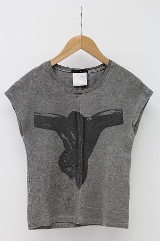 JULIUS Tシャツ.NSプリント