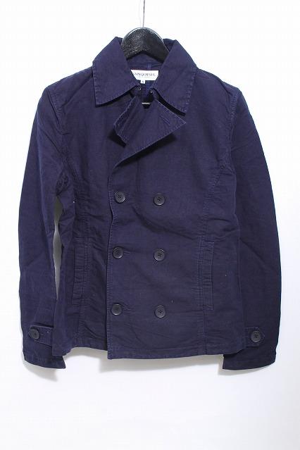 VANQUISH ジャケット.製品染め 綿ショートPコート
