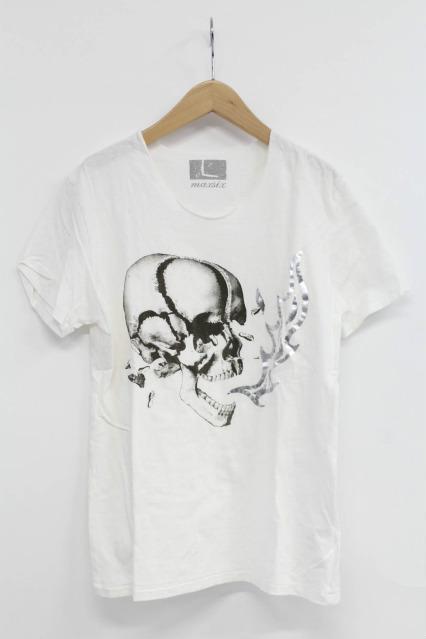 maxsix Tシャツ.スカルファイア