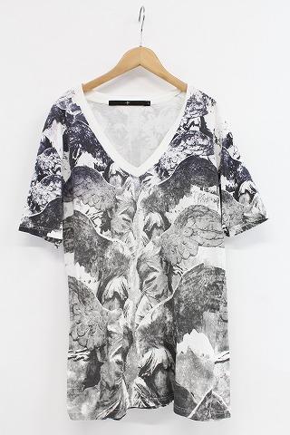 NO ID. Tシャツ.WingプリントV