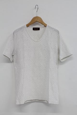 TORNADO MART Tシャツ.タックジャガード