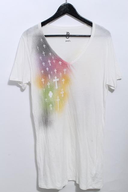 gunda(ガンダ) Tシャツ.グラフィッククロス