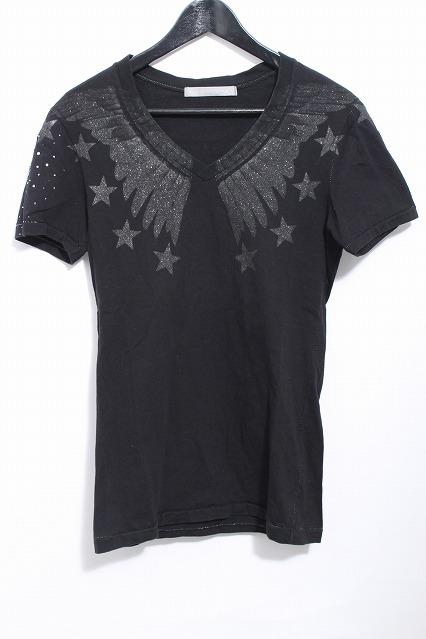 FranCisT_MOR.K.S. Tシャツ.ハイビスカルウイング